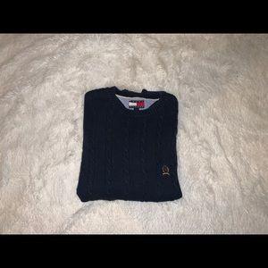 Tommy Hilfiger Vintage 90s Navy Sweater Size Large